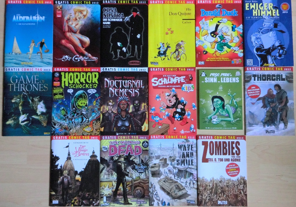Gratis-Comic-Tag 2012
