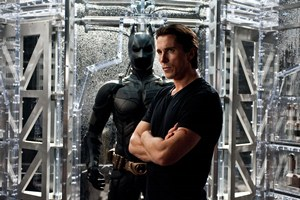 "CHRISTIAN BALE as Bruce Wayne in Warner Bros. Pictures' and Legendary Pictures' ""THE DARK NIGHT RISES,"" a Warner Bros. Pictures release."