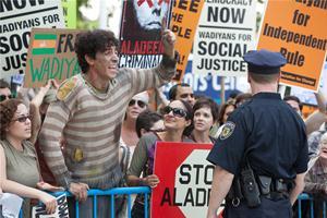 Szenenbild aus Der Diktator | © Paramount Pictures