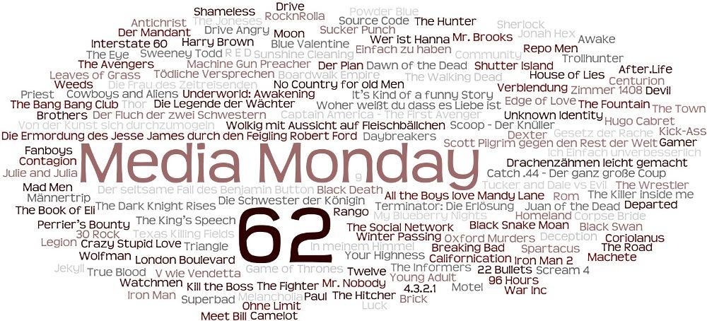 Media Monday #62