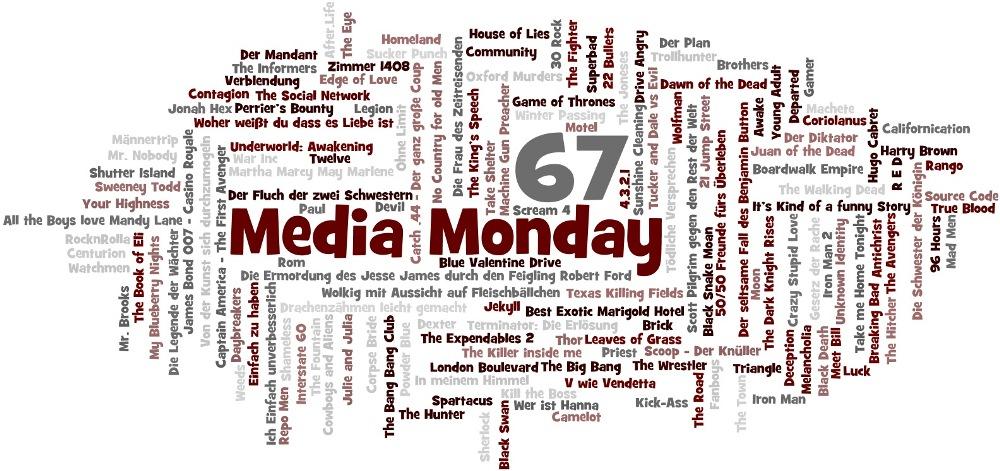 Media Monday #67