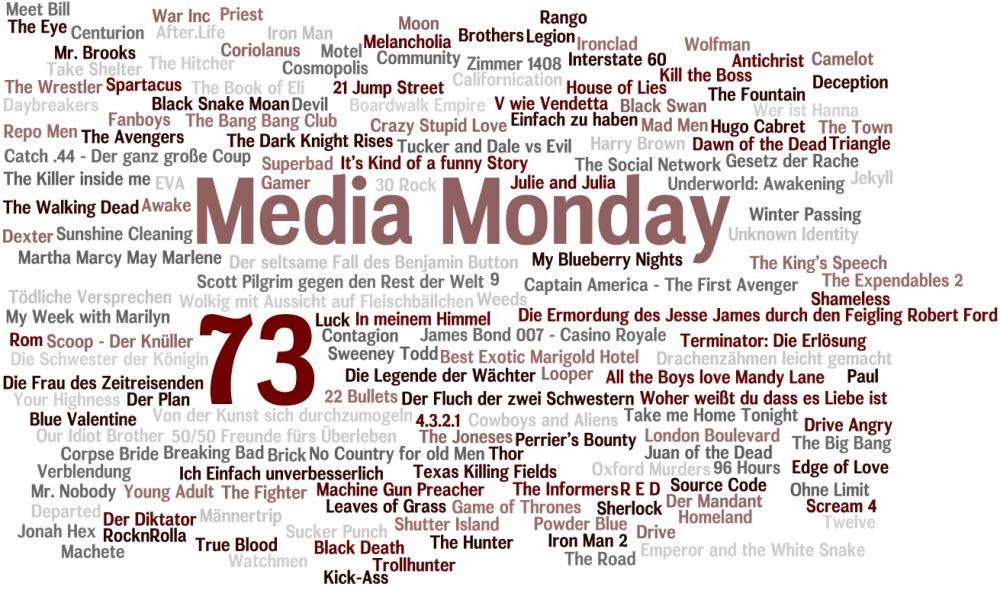 Media Monday 73