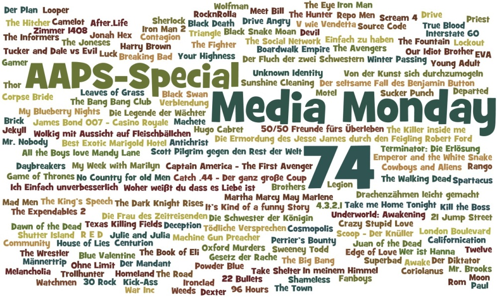 Media Monday 74 - AAPS-Special