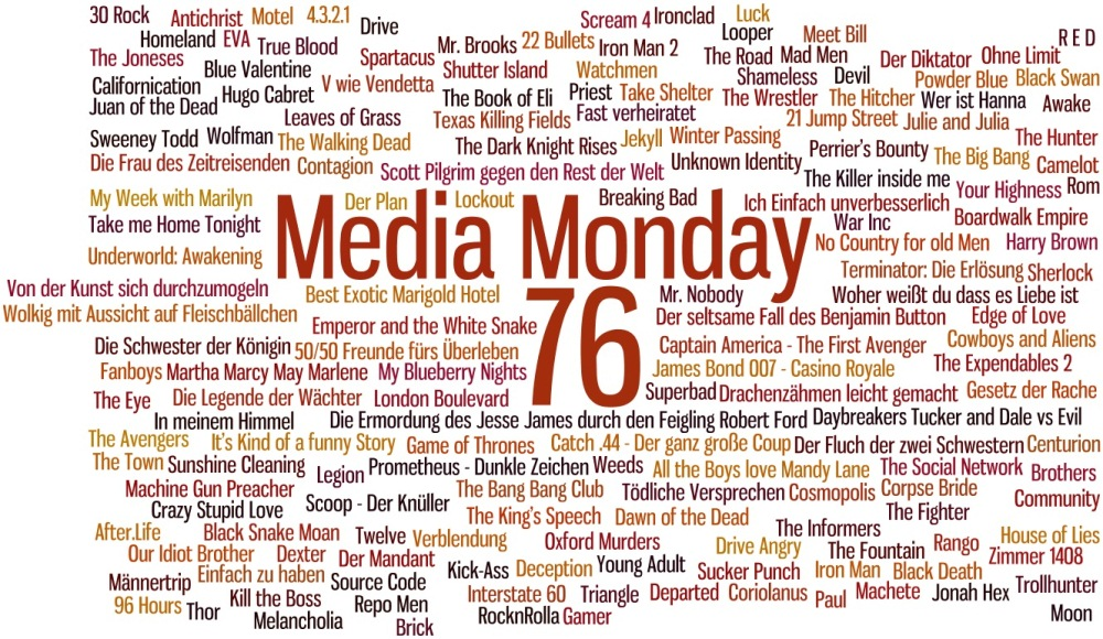 Media Monday 76