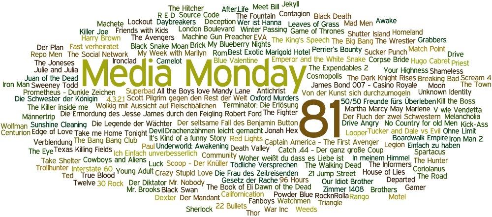 Media Monday #81