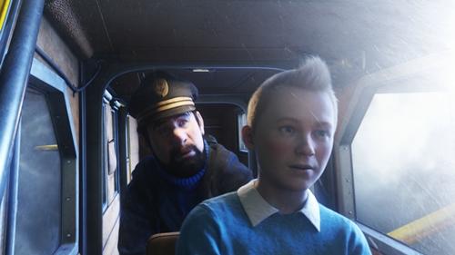 Szenenbild aus Die Abenteuer von Tim und Struppi: Das Geheimnis der Einhorn | © Sony Pictures Home Entertainment Inc.