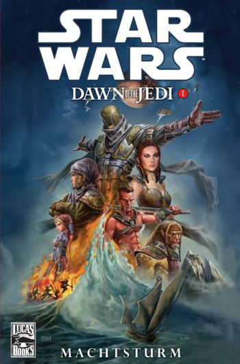 Star Wars: Dawn of the Jedi 1 - Machtsturm | © Panini