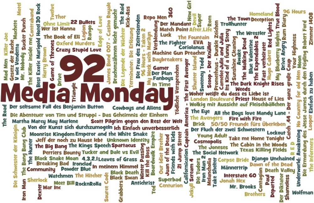 Media Monday #92