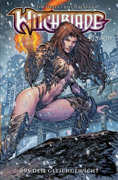 Witchblade Rebirth 1 | © Panini