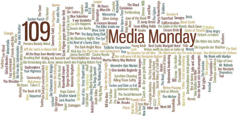 Media Monday #109
