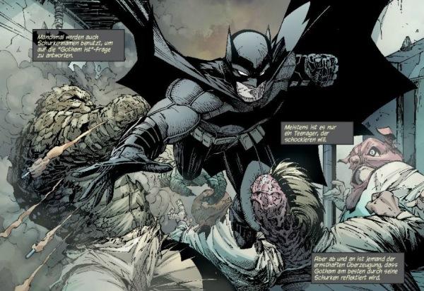 Ausschnitt aus Batman 1: Der Rat der Eulen | © Panini