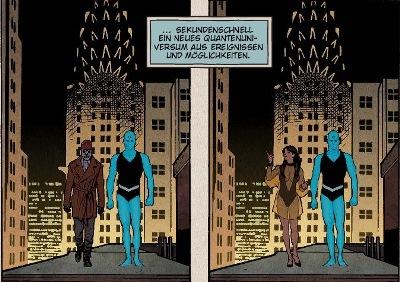 Ausschnitt aus Before Watchmen: Dr. Manhattan | © Panini