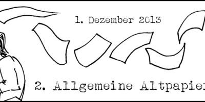 2. Allgemeine Altpapiersammlung