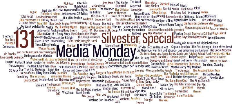 Media Monday #131 - Silvester Special