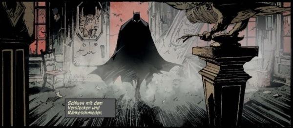 Ausschnitt aus Batman 2: Die Stadt der Eulen | © Panini