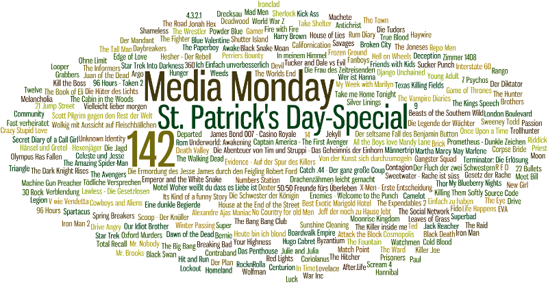 Media Monday #142 - St. Patrick's Day Special