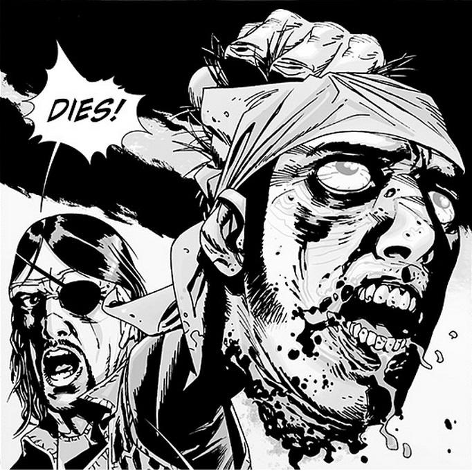 Ausschnitt aus The Walking Dead 8: Auge um Auge | © Cross Cult