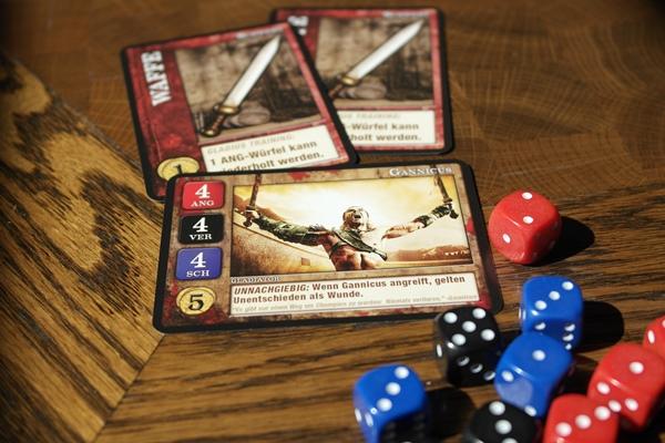 Spartacus: Ein Spiel über Blut und Verrat | © Heidelberger Spieleverlag