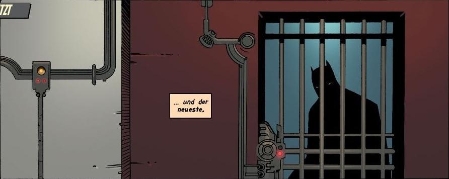 Ausschnitt aus Batman: Schreckensnächte in Gotham City | © Panini