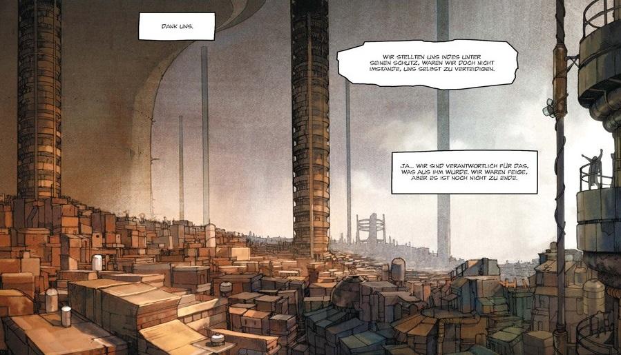 Ausschnitt aus Khaal: Zweites Buch | © Splitter Verlag
