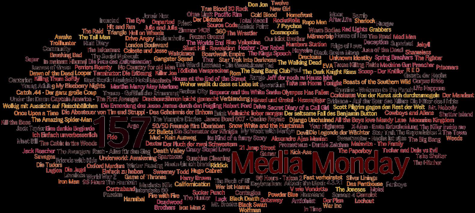 Media Monday #157