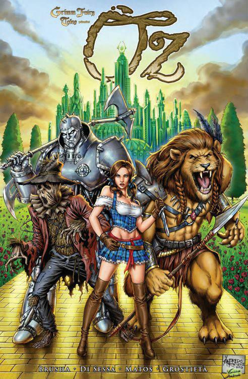 Grimm Fairy Tales: Oz | © Panini