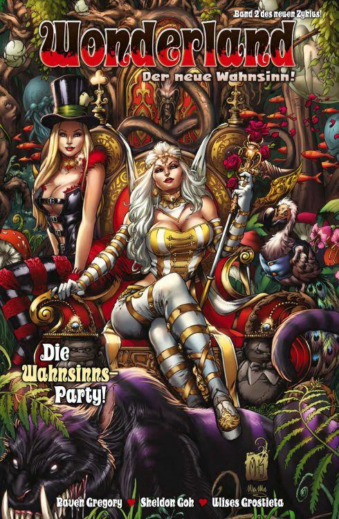 Wonderland - Der neue Wahnsinn 2: Die Wahnsinns-Party! | © Panini