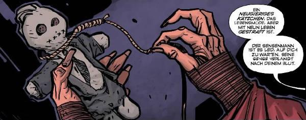 Ausschnitt aus Ghosted 2: Ein gespenstisches Ritual | © Panini