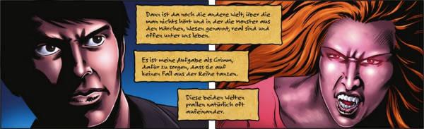 Ausschnitt aus Grimm 2: Blutlinien! | © Panini