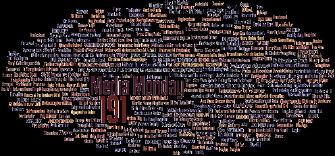 Media Monday #191