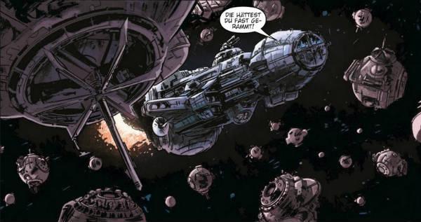 Ausschnitt aus Star Wars: Legacy II, Teil 3: Gesucht: Ania Solo | © Panini