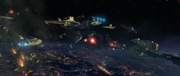 Szenenbild aus Star Wars: Episode III - Die Rache der Sith   © Lucasfilm Ltd. & TM. All rights reserved. Used with permission.