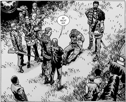 Ausschnitt aus The Walking Dead 12: Schöne neue Welt | © Cross Cult