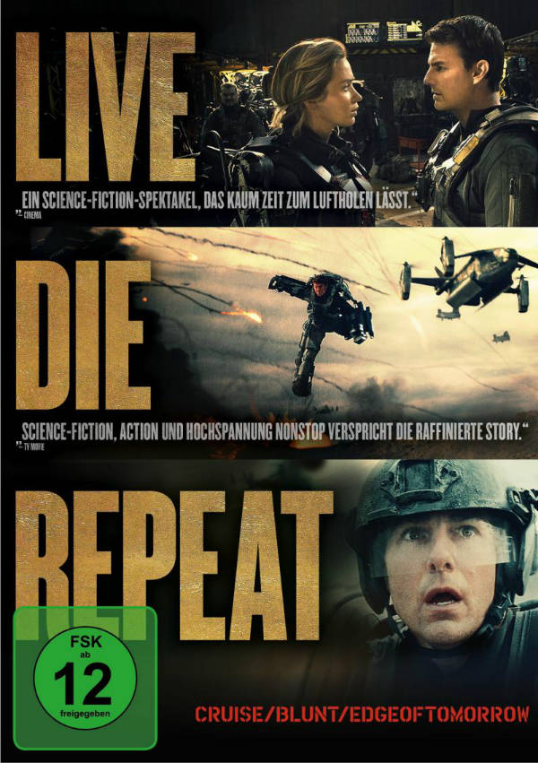 Edge of Tomorrow - Live Die Repeat | © Warner Home Video