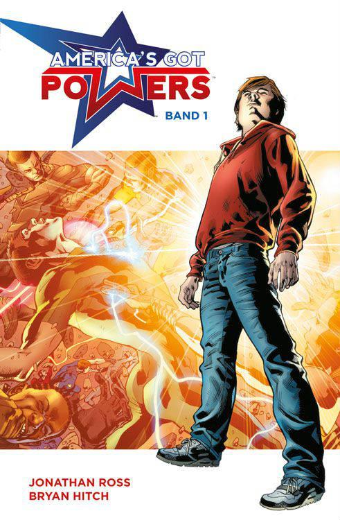 America's Got Powers 1   © Panini
