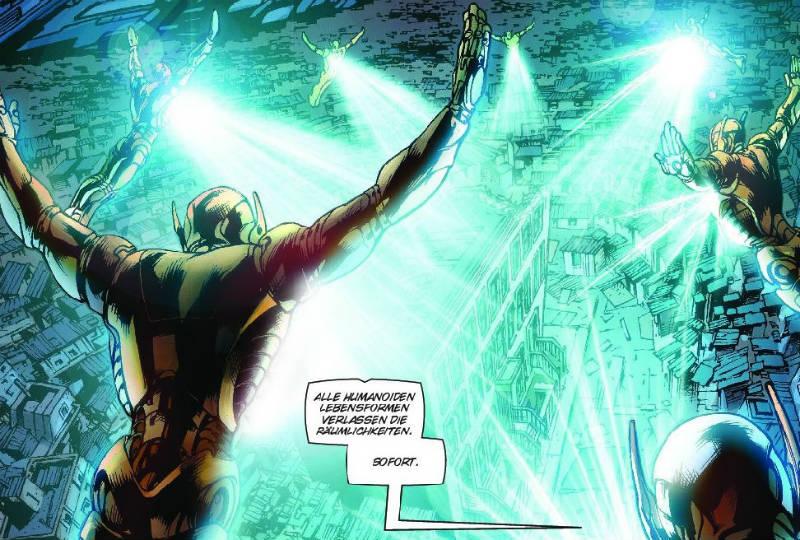 Ausschnitt aus Avengers: Age of Ultron | © Panini