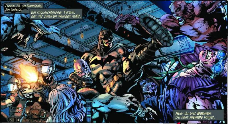 Ausschnitt aus Batman - The Dark Knight 1: Das Höllenserum | © Panini