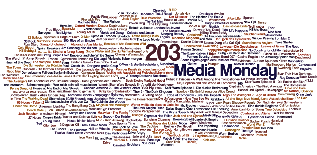 Media Monday #203