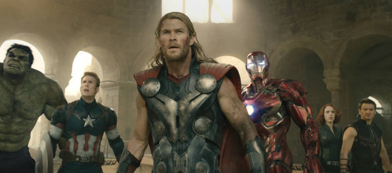Szenenbild aus The Avengers 2: Age of Ultron | © Walt Disney