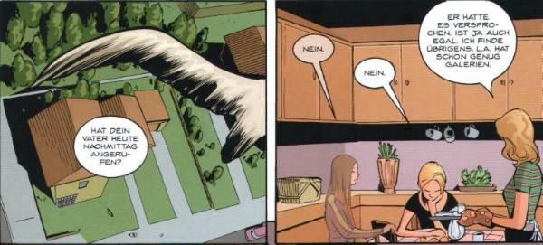 Ausschnitt aus Buffy The Vampire Slayer Chroniken 3: Mitten ins Herz | © Panini