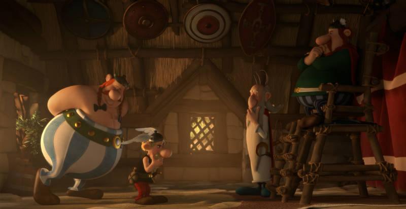 Szenenbild aus Asterix im Land der Götter | © Universum Film