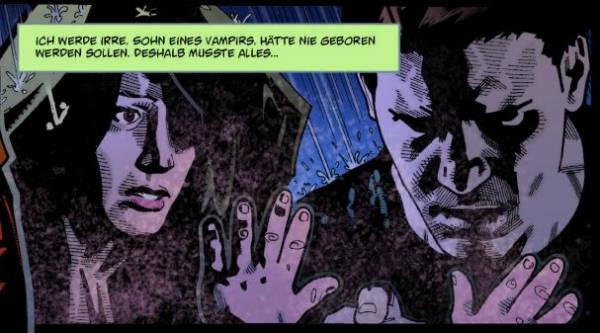 Ausschnitt aus Angel - Nach dem Fall, Staffel 6, Band 2: Die erste Nacht | © Panini
