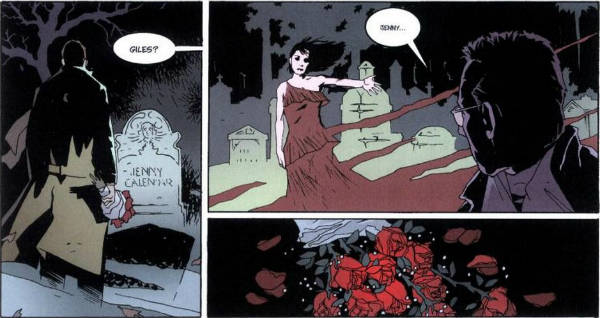 Ausschnitt aus Buffy The Vampire Slayer Chroniken 4: Die Vampirkönigin   © Panini