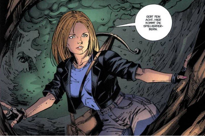 Ausschnitt aus Buffy The Vampire Slayer Chroniken 4: Die Vampirkönigin | © Panini
