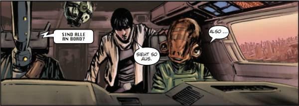 Ausschnitt aus Star Wars: Legacy II, Teil 4: Die letzte Schlacht | © Panini
