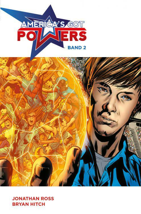 America's Got Powers 2 | © Panini