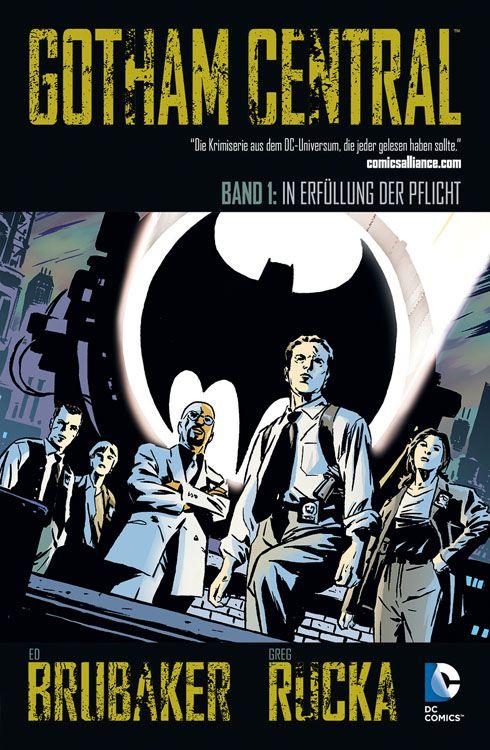 Gotham Central 1: In Erfüllung der Pflicht   © Panini