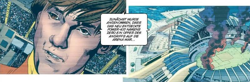Ausschnitt aus America's Got Powers 2 | © Panini