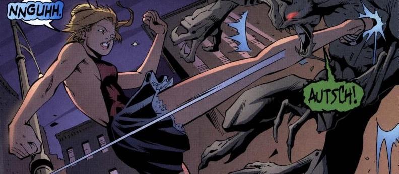 Ausschnitt aus Buffy The Vampire Slayer Chroniken 5: Blutige Festtage   © Panini