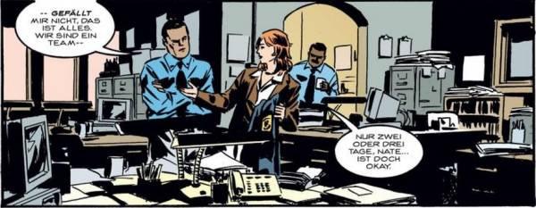 Ausschnitt aus Gotham Central 1: In Erfüllung der Pflicht   © Panini